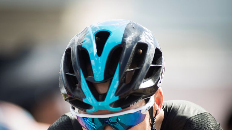 Chris Froome finished 33 seconds down on Nairo Quintana on stage eight