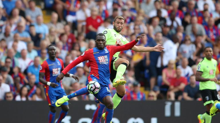 Christian Benteke won the penalty but had a mixed game