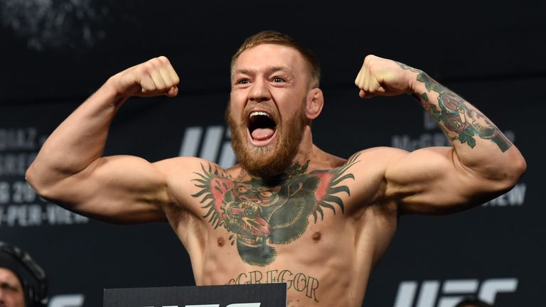 Conor Mcgregor Has The Pick Of Three Ufc Weight Divisions So Where Will He Go Mma News Sky Sports