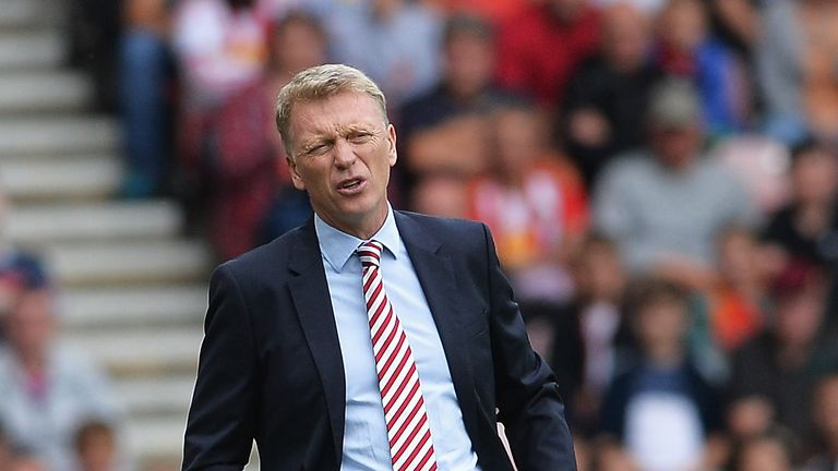 David Moyes accepts Sunderland will be in another relegation battle this season