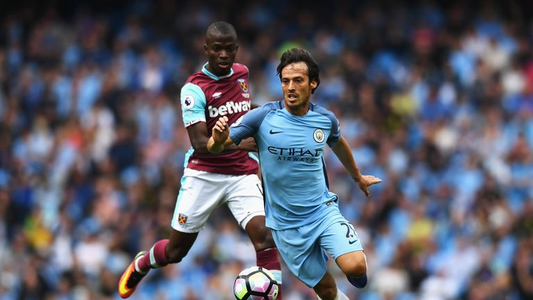 Manchester City midfielder David Silva believes they are constantly improving under Guardiola.