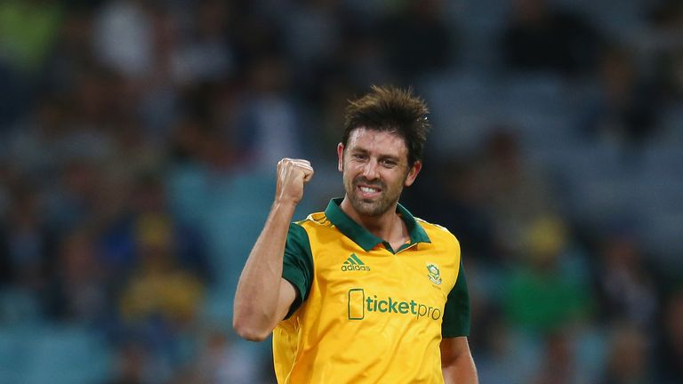 David Wiese quits South Africa for Sussex on Kolpak deal | Cricket News |  Sky Sports