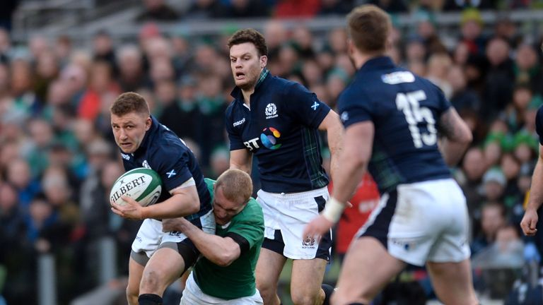 Scotland's Duncan Weir joins the ranks at Edinburgh