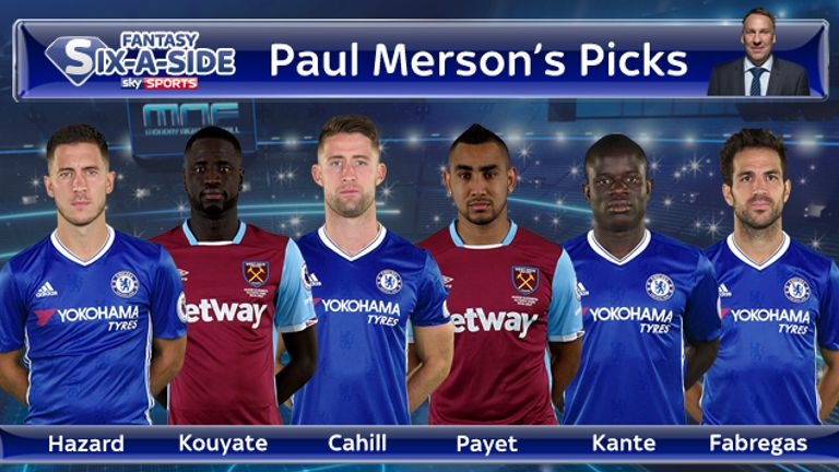 Merson's Six-a-Side Team