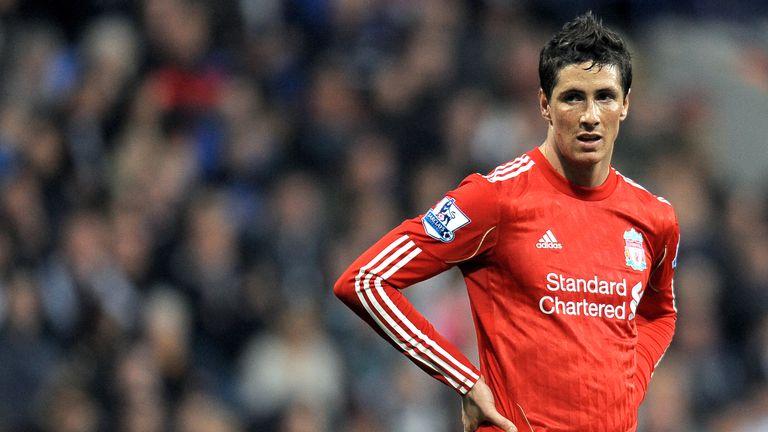 Liverpool's Spanish striker Fernando Torres at The Reebok stadium