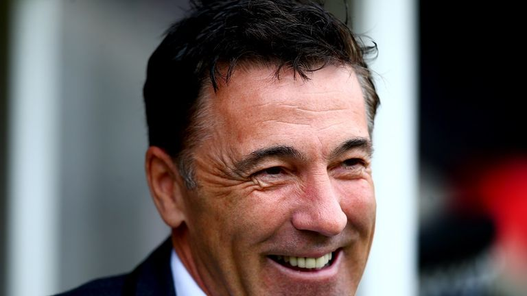 Chesterfield manager Dean Saunders
