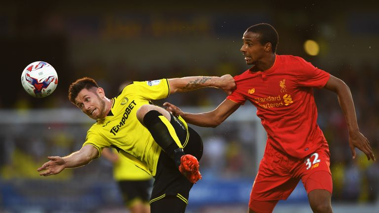 Matip made his Liverpool debut on Tuesday