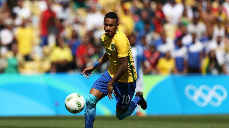Neymar was instrumental in Brazil win