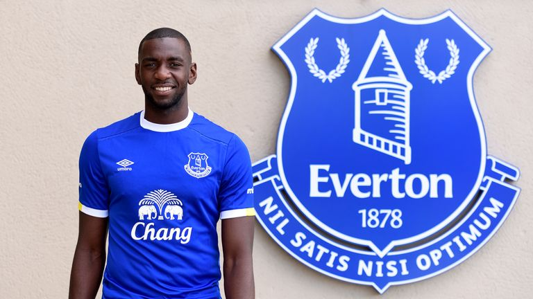 Yannick Bolasie signs for Everton on a five-year deal
