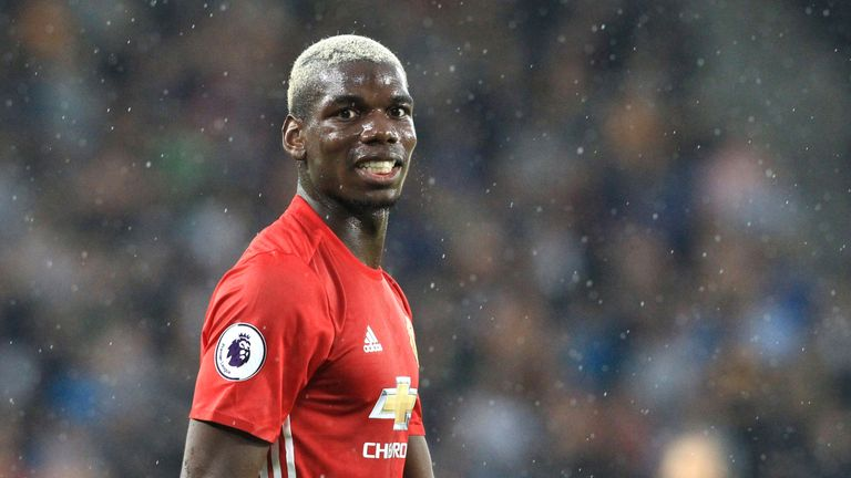 Manchester United broke the world-record transfer fee for Pogba