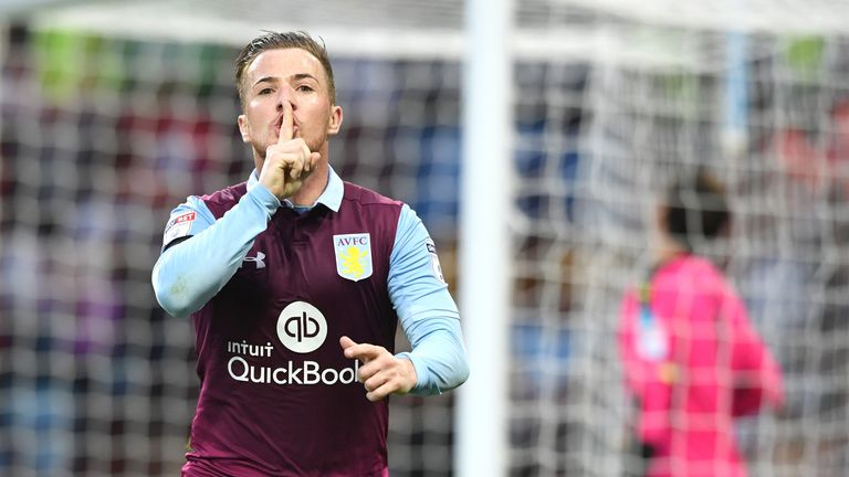 Ross McCormack opens the scoring at Villa Park