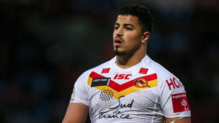 Fouad Yaha went close with a chance for Catalans Dragons