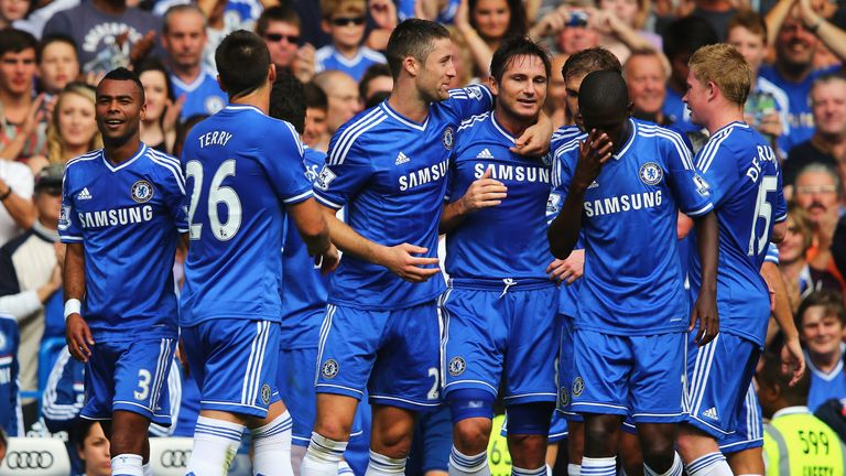 Frank Lampard scored one of the great opening day goals against Hull City