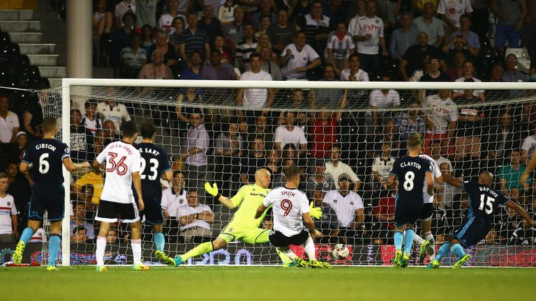 Lasse Vigen Christensen's shot wins the game for Fulham