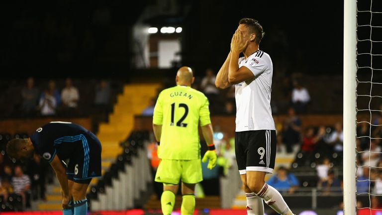 Fulham created more and more chances as the game went on