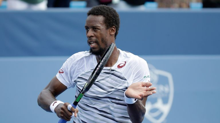 Monfils is into round two