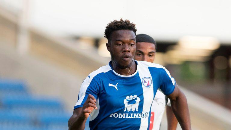 Chesterfield winger Gboly Ariyibi undergoes Nottingham Forest medical