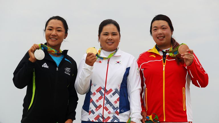 Inbee Park, Lydio Ko and Shanshan Feng on the podium, but the 2020 Games would benefit from a mixed team event