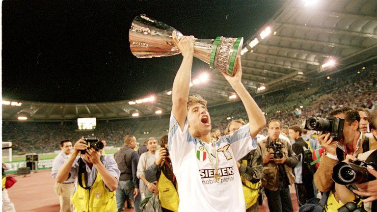 Hernan Crespo and Lazio were beaten to the Serie A title by Roma