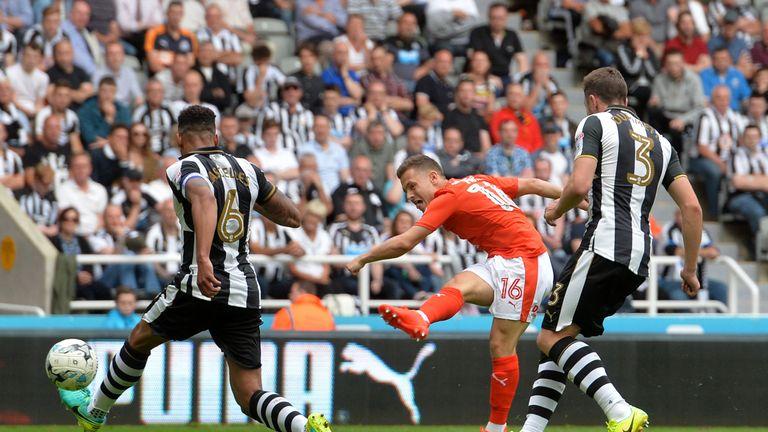 Jack Payne scores Huddersfield's winner