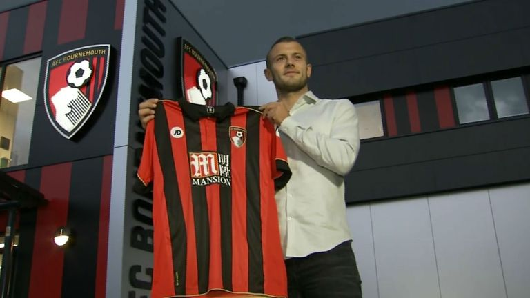 Jack Wilshere has sealed his transfer to Bournemouth