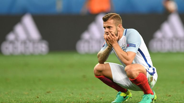 Jack Wilshere after England lost 2-1 to Iceland at Euro 2016