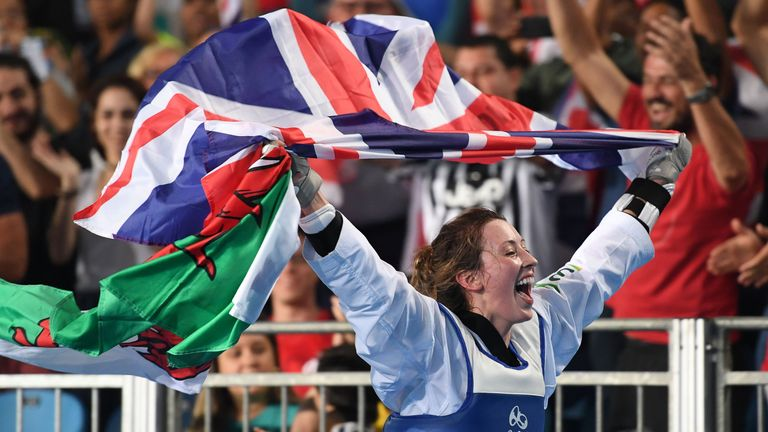 Welsh Warrior Jade Jones is one of six Olympic stars featured in Mission Mudder