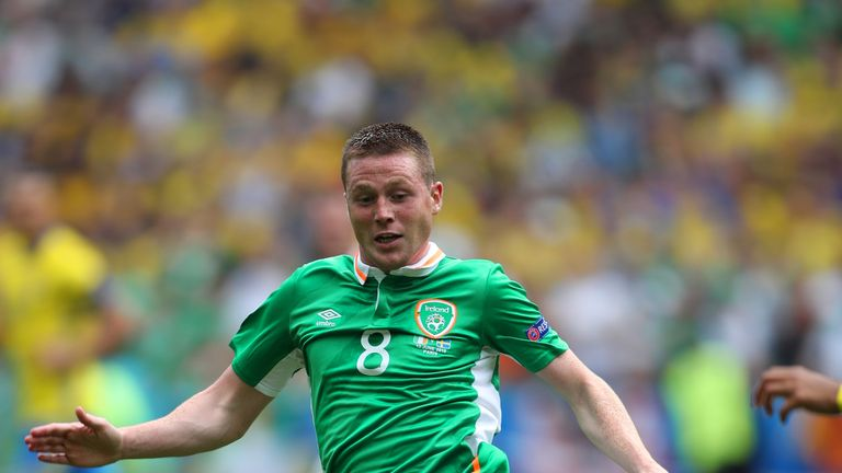 McCarthy has won 41 caps for the Republic of Ireland