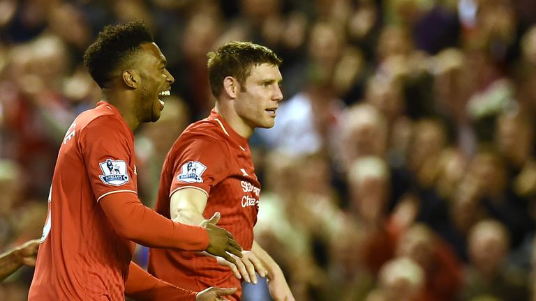 Liverpool will have to wait before making a decision on England duo Daniel Sturridge (L) and James Milner (R) for their game against Arsenal.