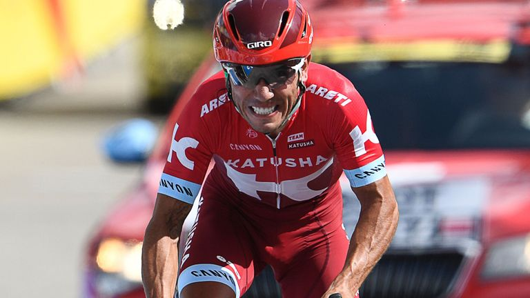 Joaquim Rodriguez is retiring at the end of the season