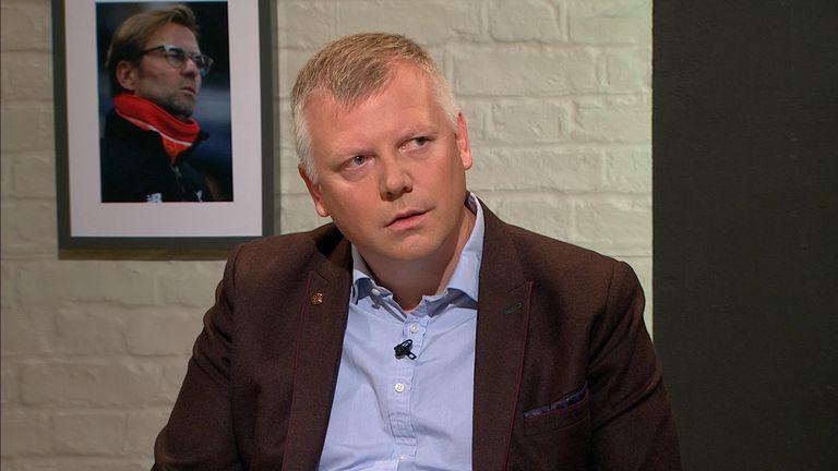 Daily Mirror cheif football writer John Cross