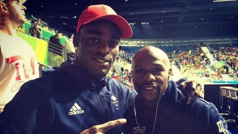 Floyd Mayweather congratulated Buatsi on his performance at the Olympic Games.