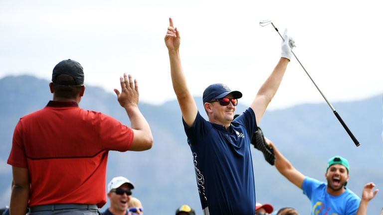 Rose fired the first hole-in-one in Olympic history