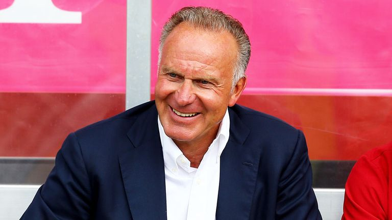 Karl-Heinz Rummenigge has hit out at Manchester United