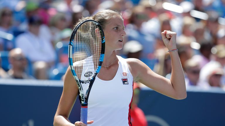 Karolina Pliskova of the Czech Republic took the title in straight sets