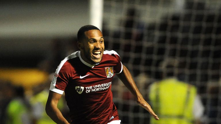 Northampton beat West Brom on penalties to book a plum tie with Manchester United