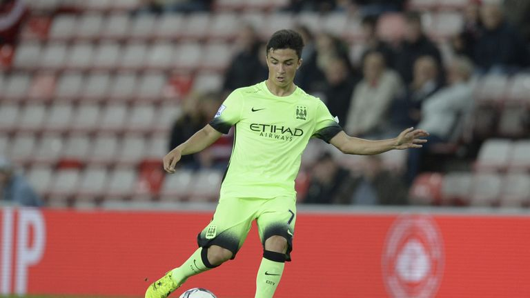City midfielder Manu Garcia is in Spain with Alaves on loan this season