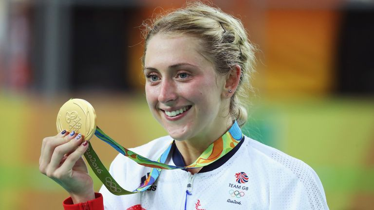 Laura Trott named August's Sportswoman of the Month