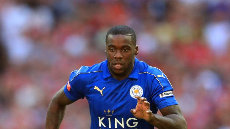 Leicester City's Jeffrey Schlupp during the Community Shield