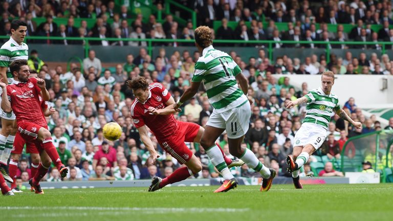 Leigh Griffiths struggling to face Rangers at Celtic Park