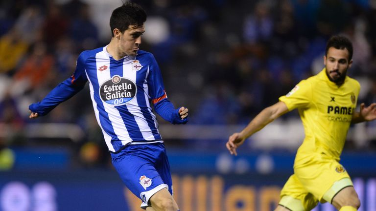 Luis Alberto (left) spent a portion of last season on loan at Deportivo