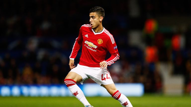 Pereira is highly rated at Old Trafford but needs time to develop