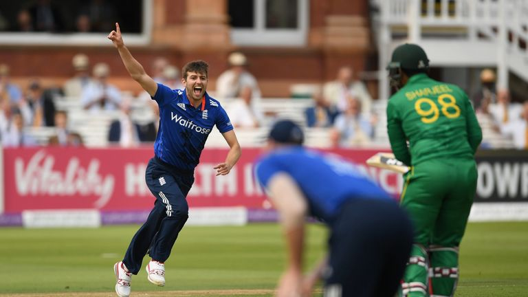 Khan played against England in the recent  ODI series