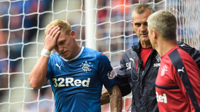 Martyn Waghorn could return after suffering an injury on the opening day of the season