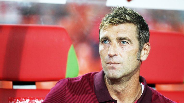 Caretaker head coach Massimo Carrera