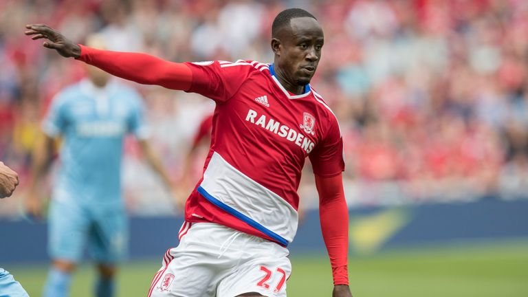 Albert Adomah is heading back to the Championship