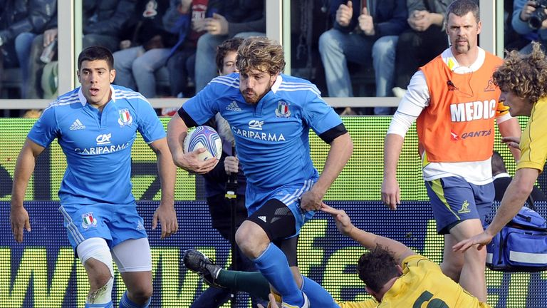 Mirco Bergamasco has hung up his boots