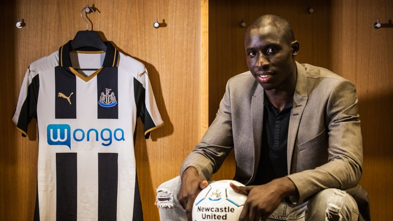 Mohamed Diame is one of eight summer signings at Newcastle