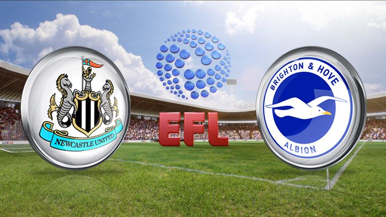 Newcastle face Brighton in the Sky Bet Championship on Saturday. Watch on SS1 from 5.15pm.