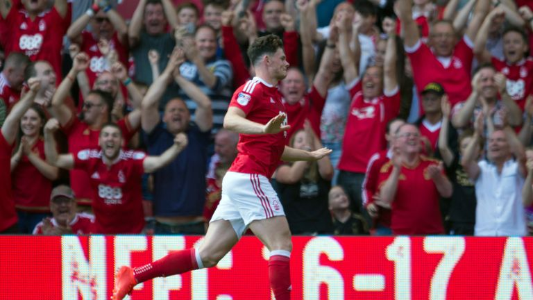 Burke has scored four goals across all competitions for Nottingham Forest this season